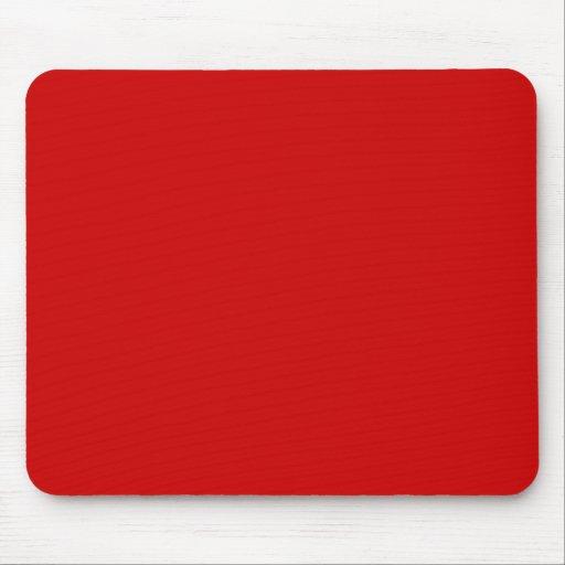 Rojo de los BU Alfombrillas De Raton