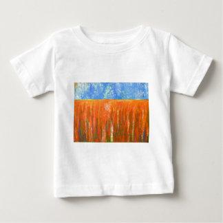 Rojo de marea (paisaje marino abstracto) camiseta