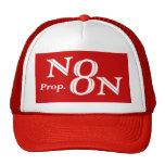 Rojo de N8N Gorras