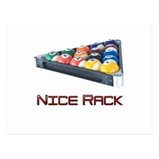 Rojo de NiceRack Tarjetas Postales