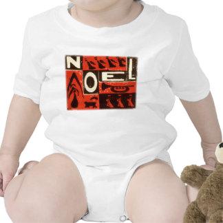 Rojo de Noel Traje De Bebé