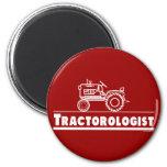 ROJO de Ologist del tractor Imán Redondo 5 Cm