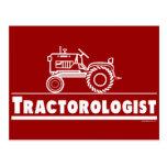 ROJO de Ologist del tractor Postal