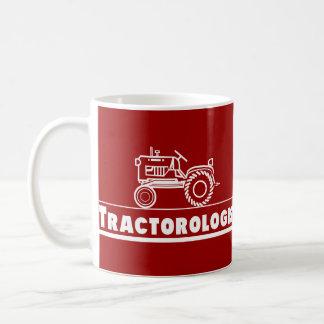 ROJO de Ologist del tractor Taza