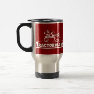 ROJO de Ologist del tractor Taza De Viaje