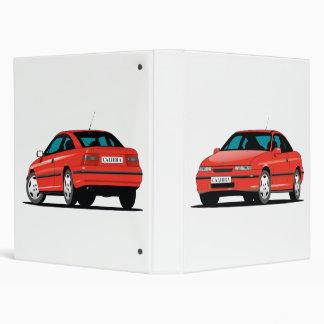 Rojo de Opel Calibra