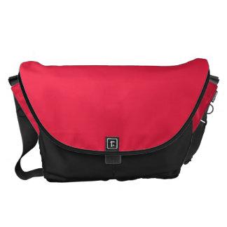 Rojo de rubíes bolsa de mensajería