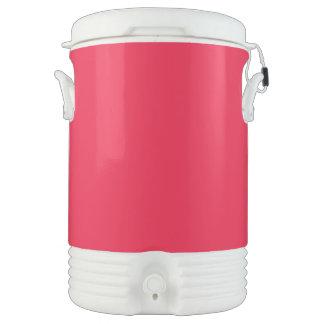 Rojo de rubíes vaso enfriador igloo