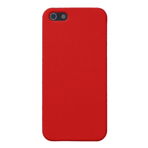 Rojo de rubíes iPhone 5 funda