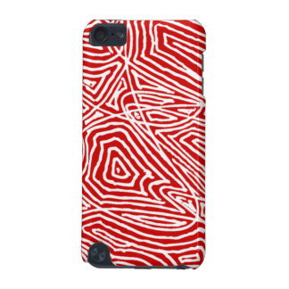 Rojo de Scribbleprints Funda Para iPod Touch 5G