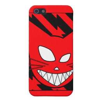 Rojo de Techi Kitteh iPhone 5 Carcasas