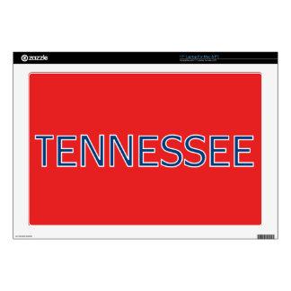 Rojo de Tennessee piel del ordenador portátil de Portátil 43,2cm Skins