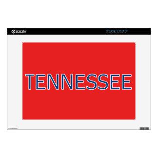 Rojo de Tennessee piel del ordenador portátil de Portátil Calcomanías