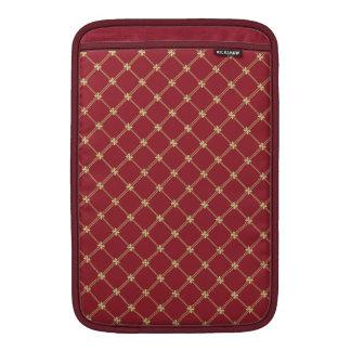 Rojo de Tudor y modelo del oro 11 pulgadas Funda MacBook