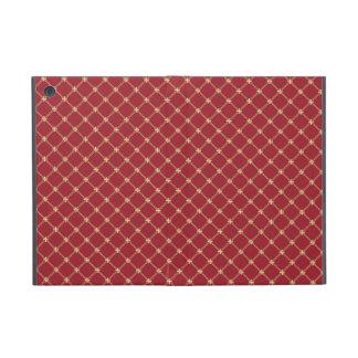 Rojo de Tudor y modelo entrecruzado del oro iPad Mini Coberturas