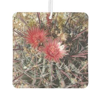 Rojo del anzuelo del cactus de barril