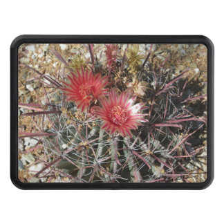 Rojo del anzuelo del cactus de barril tapa de tráiler