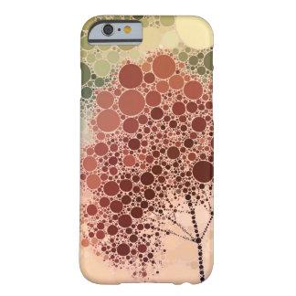 rojo del árbol del efecto funda de iPhone 6 slim