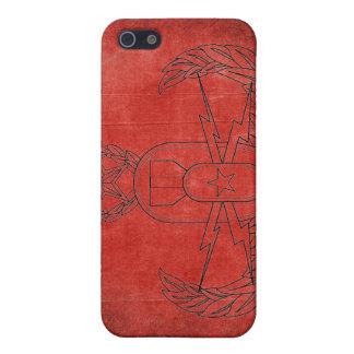 Rojo del cangrejo del EOD iPhone 5 Fundas