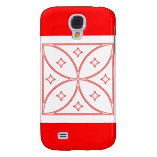 Rojo del caso de Iphone 3 de las estrellas de la m