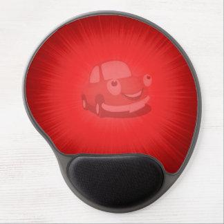 Rojo del coche de Mousepad del gel por el highsalt Alfombrilla Con Gel