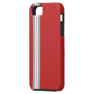 Rojo del corredor - caso del compañero funda para iPhone 5 tough