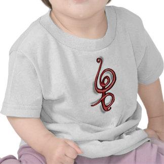 Rojo del de Hakuna Matata Camiseta
