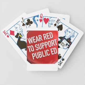 Rojo del desgaste para Ed. naipes (edición de la e Cartas De Juego