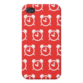 Rojo del despertador iPhone 4/4S funda