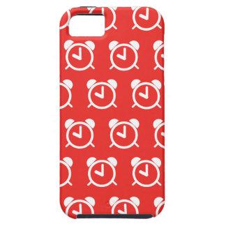 Rojo del despertador iPhone 5 carcasa