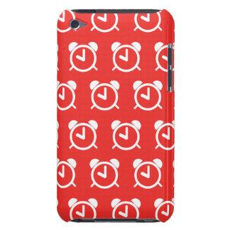 Rojo del despertador iPod Case-Mate funda