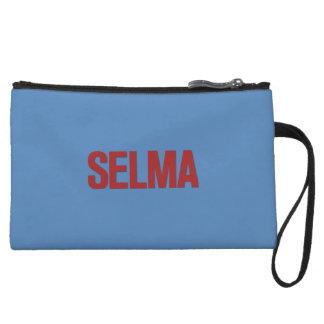 Rojo del Día-Selma de MLK en azul