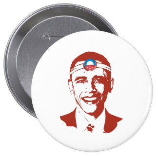 Rojo del Dr. Obama Pins