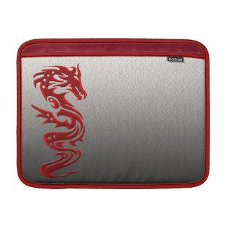 Rojo del dragón funda para macbook air