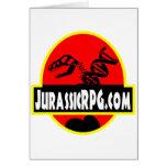 Rojo del engranaje de JurassicRPG Felicitaciones
