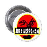 Rojo del engranaje de JurassicRPG Pins