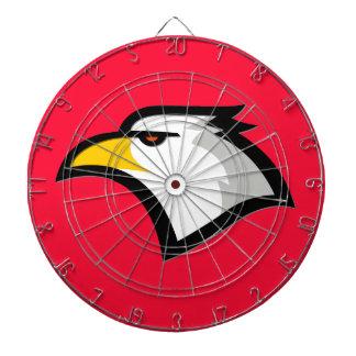 Rojo del escarlata; Eagle calvo