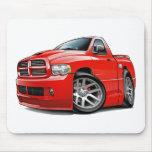 Rojo del espolón de Dodge SRT10 Alfombrillas De Ratón