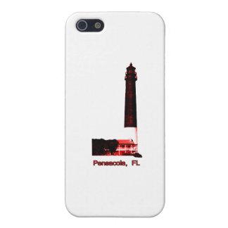 Rojo del faro de Pensacola FL el regalo de Zazzle  iPhone 5 Carcasas