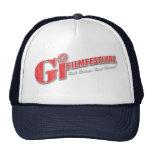 Rojo del gorra el | del logotipo del festival de c