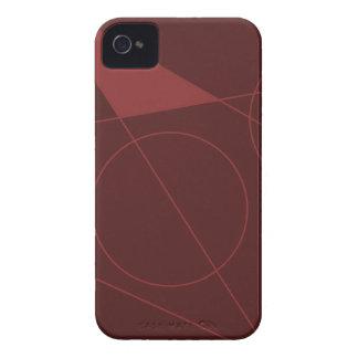 Rojo del lumen carcasa para iPhone 4