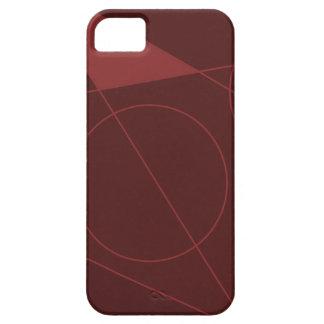 Rojo del lumen funda para iPhone SE/5/5s