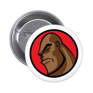Rojo del matón 001 pin