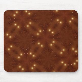 Rojo del modelo de estrella mousepads