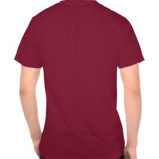 Rojo del ND de Scotty Tee Shirts