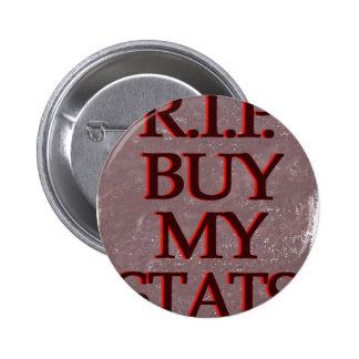 Rojo del negro de la piedra sepulcral de BuyMyStat