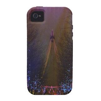 Rojo del ojo de Londres Case-Mate iPhone 4 Carcasa