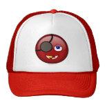 Rojo del pirata gorras de camionero