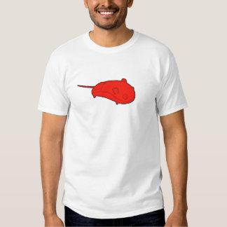 rojo del ratón camisas