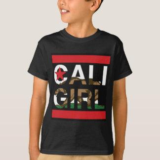Rojo del representante del chica de Cali Playera